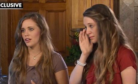 Jill and Jessa Duggar Interview Sneak Peek