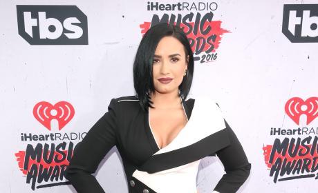 Demi Lovato Posts Bikini Pic, Thinks She's Fat??