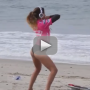 Anastasia Ashley Twerking: Surfer's Warmup Routine is Greatest Ever