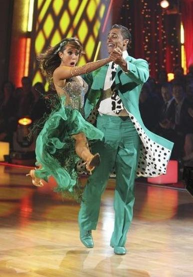 Rick Fox and Cheryl Burke Picture