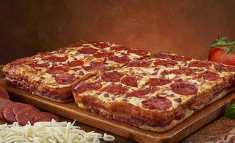 Bacon Wrapped Crust DEEP!DEEP! Dish