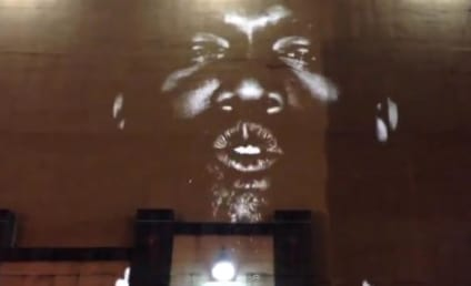 """Kanye West Projects """"New Slaves"""" Music Video on Buildings Around the World"""