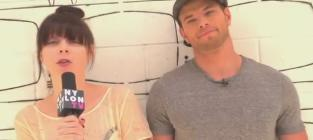 Kellan Lutz Nylon TV Interview: Loving His Mom!