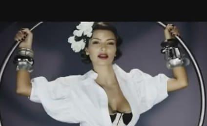 "Kim Kardashian Touts Fragrance as ""Super Feminine"""