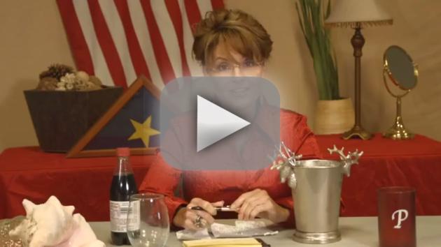 Sarah Palin Accepts Ice Bucket Challenge