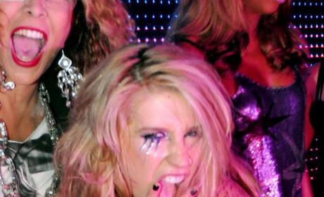 "Ke$ha Calls Out Britney Spears for Lip-Synching ""Bull$hit"""