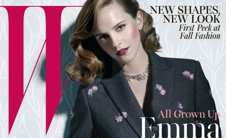 Emma Watson Loves Kevin Costner, America