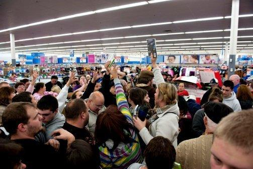 Walmart Black Friday Stampede