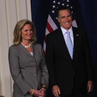 Ann Romney and Mitt Romney