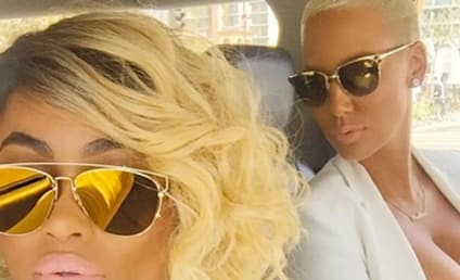 Blac Chyna Gets Naked, Netflix & Chills With Amber Rose