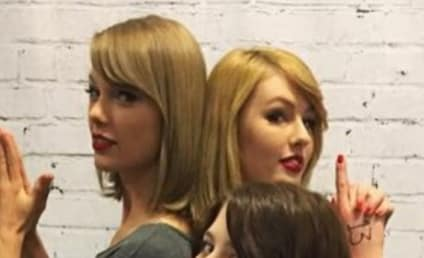 Taylor Swift Meets Taylor Swift Look-Alike: Who's Who?!?