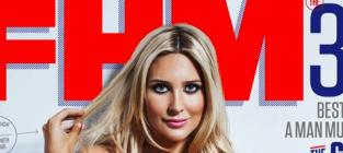 Stephanie Pratt: Topless in FHM! (Both of Those Things Still Exist!)