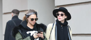 Cara Delevingne and St. Vincent: It's Over!
