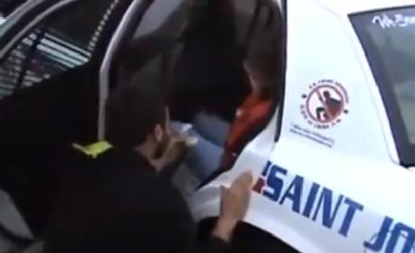 Fake Arrest Ends in Marriage Proposal: Watch Now!