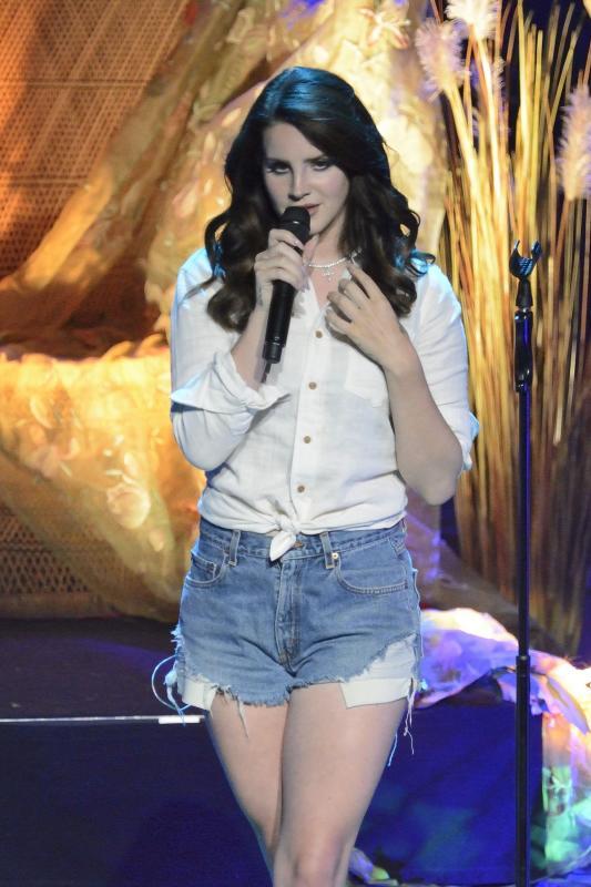 Lana Del Rey Jean Shorts