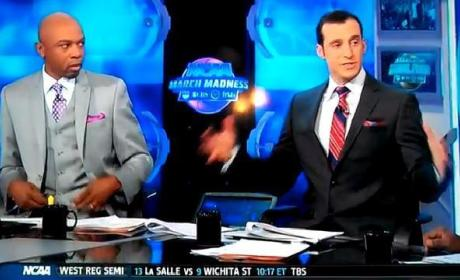 "Doug Gottlieb Cracks Awkward ""White Man"" Joke on CBS Pregame Show"