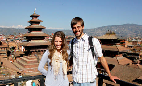 Jill and Derick in Nepal
