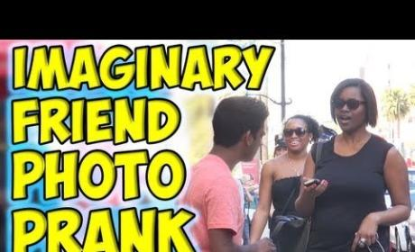Imaginary Friend Photo Prank: L.A. Passersby Get Straight Up Confused, Kind of Scared