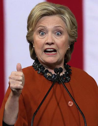 Hillary Clinton Looks Weird