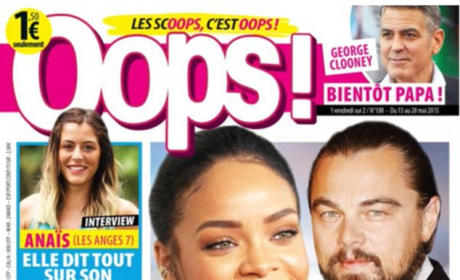 Leonardo DiCaprio, Rihanna French Tabloid Cover