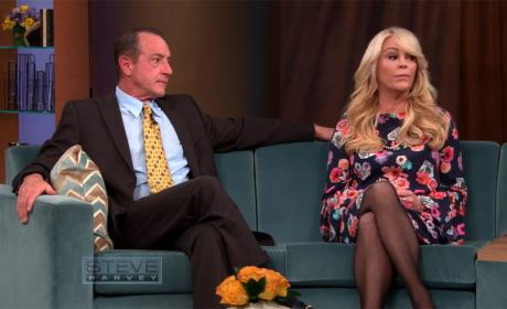 Michael and Dina Lohan on Steve Harvey