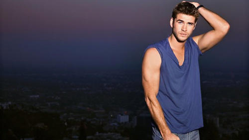 Liam Hemsworth in Who Magazine