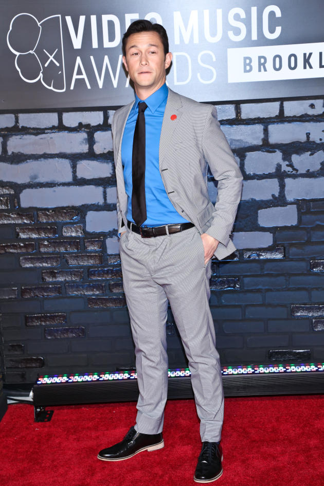 Joseph Gordon-Levitt at the VMAs