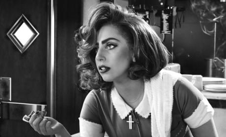 Lady Gaga in Sin City 2: First Look!
