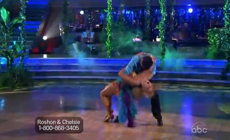 Chelsie Hightower Barely Avoids Dancing With the Stars Wardrobe Malfunction