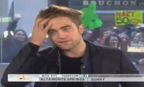 Robert Pattinson Laughs Off Kristen Stewart Question on The Today Show