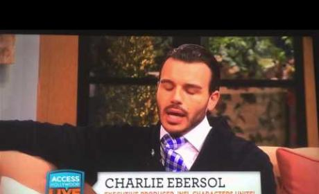 Charlie Ebersol Refuses to Reveal How He Met Britney Spears; Watch the Awkward Interview Now!