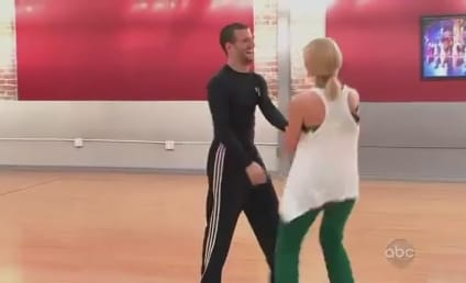 Katherine Jenkins Dazzles in DWTS Debut