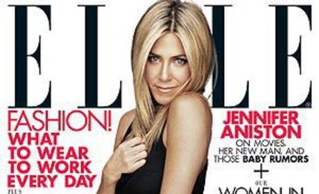 Jennifer Aniston on Pregnancy Rumors: FALSE!
