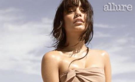 Vanessa Hudgens Poses for Allure, Speaks on Nude Photos