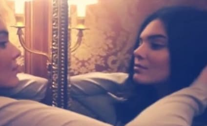 Kendall Jenner: Twerking in Paris on Instagram!