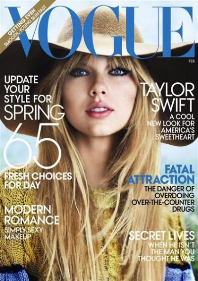 Taylor Swift Vogue Cover