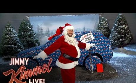 Jimmy Kimmel Pulls AMAZING Christmas-Themed Prank on John Krasinski