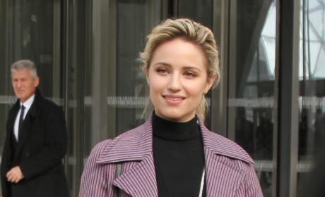 Dianna Agron Fashion Week Photo