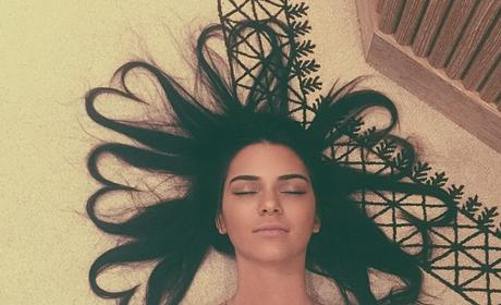 Kendall Jenner with Cool Hair