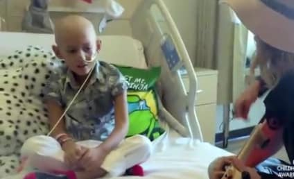 """Brave Cancer Patient Sings """"Fight Song"""" with Rachel Platten"""