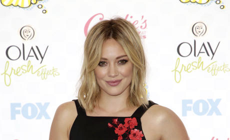 Hilary Duff at the 2014 Teen Choice Awards