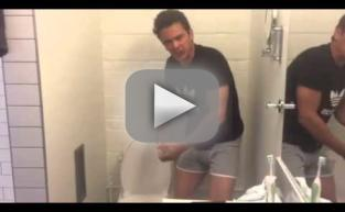James Franco Screams About Poop