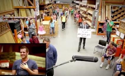 Man Proposes to Boyfriend Via Home Depot Flash Mob