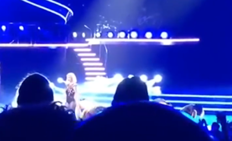 "Britney Spears ""Fan"" Calls Her Fat B--ch, Singer Responds with F-Bomb: Watch!"