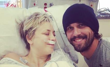 Kaley Cuoco: Sinus Surgery Selfie Sparks Nose Job Rumors
