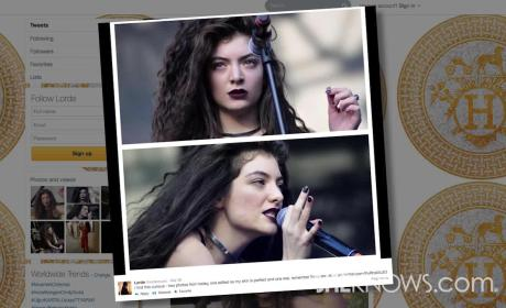Lorde Calls Out Use of Photoshop, Tweets: Flaws Are Okay