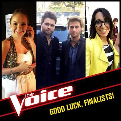 Voice Top 3 Finalists