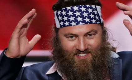 Willie Robertson, Scott Baio Support Donald Trump at Republican National Convention