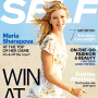 Maria Sharapova Self Cover: Winning at Life!