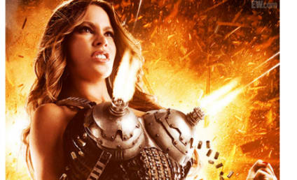 Sofia Vergara Dons Machine Gun Bra in Explosive Machete Kills Poster